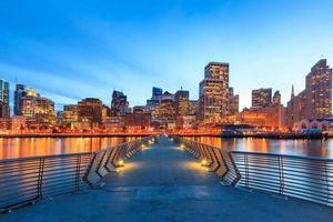 San Francisco uitzicht vanaf pier 14 foto