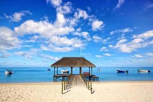 Mauritius strand foto