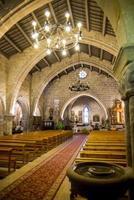 iglesia parroquial de muros. een coruña. galicia. españa. europa foto