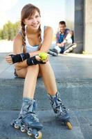 sportief meisje foto