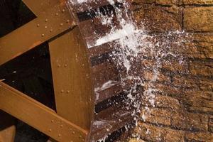 waterrad close-up foto