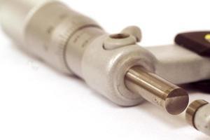 close-up micrometer foto