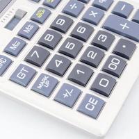 close-up rekenmachine foto