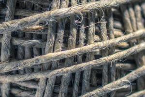 touw close-up foto