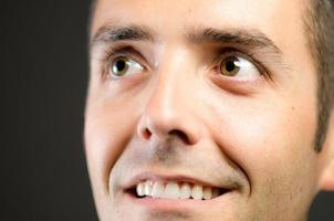 close-up man foto