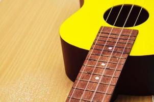 ukelele close-up