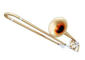 trombone close-up foto