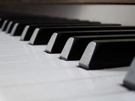 piano close-up foto