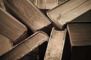 vintage boeken close-up foto