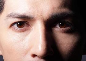 close up van ogen foto