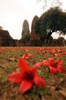 ayutthaya wat ratburana van Thailand foto