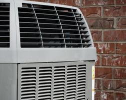 airconditioning close-up foto