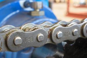 close-up van de ketting foto