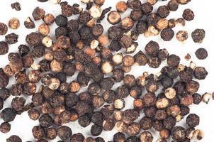 zwarte peper close-up foto