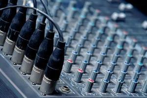 geluidskaart close-up foto