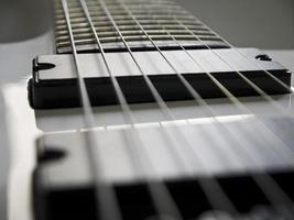 gitaar close-up. foto
