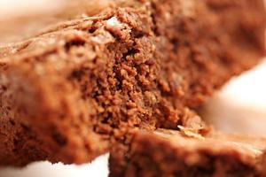 brownies sluiten omhoog foto