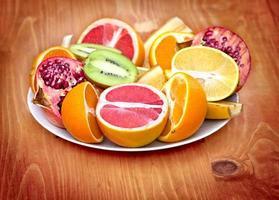 exotisch fruit - tropisch fruit foto