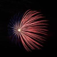 vuurwerk op het grote eiland foto
