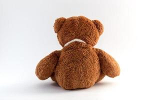 bruine teddybeer foto