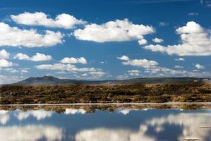 spiegelreflecties in Sardinië foto