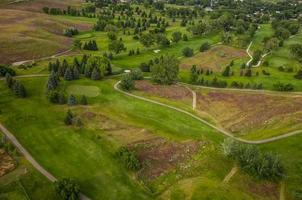 golfbaan antenne foto