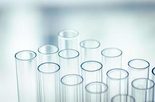 laboratorium reageerbuizen, wetenschappelijke achtergrond abstract