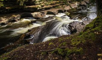 presque isle rivier in de stekelvarken bergen foto