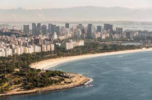 Flamengo strand in Rio de Janeiro, Brazilië foto