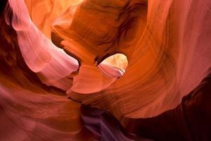 vuur zand schilderij van de natuur foto