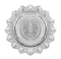zilveren zegel foto
