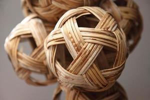 rotan bal de favoriete sporten van Zuidoost-Azië foto