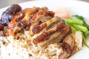 eend rijst foto