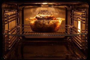 gebraden kip in de oven foto