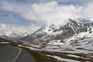 gavia pass, dolomieten, alpen, italië
