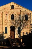 kerk in slijmbeurs foto