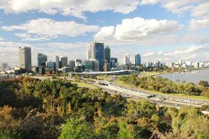 de stad Perth foto