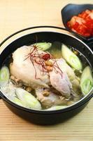 samgyetang / Koreaanse kippensoep