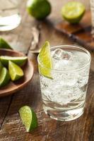 alcoholische gin-tonic foto