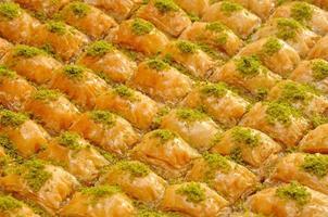 traditionele dessertbaklava foto