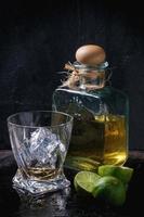 tequila en limoenen