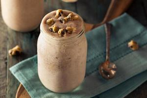 zelfgemaakte koekjesdeeg milkshake