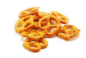 pretzels op wit