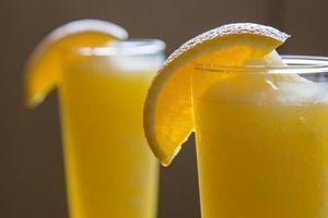 oranje smoothies foto