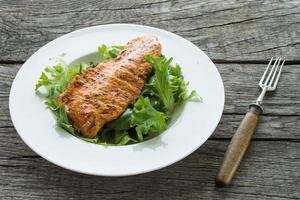 gemarineerd geroosterd kalkoenvlees foto
