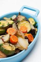 geroosterde groenten. foto