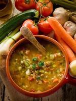 soep groente foto