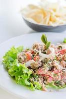 pittige tonijnsalade foto