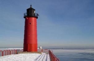 vuurtoren van Milwaukee Pierhead foto