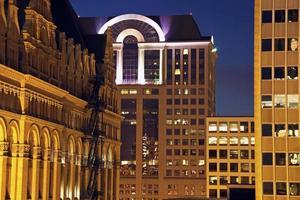 het centrum van Milwaukee, Wisconsin foto